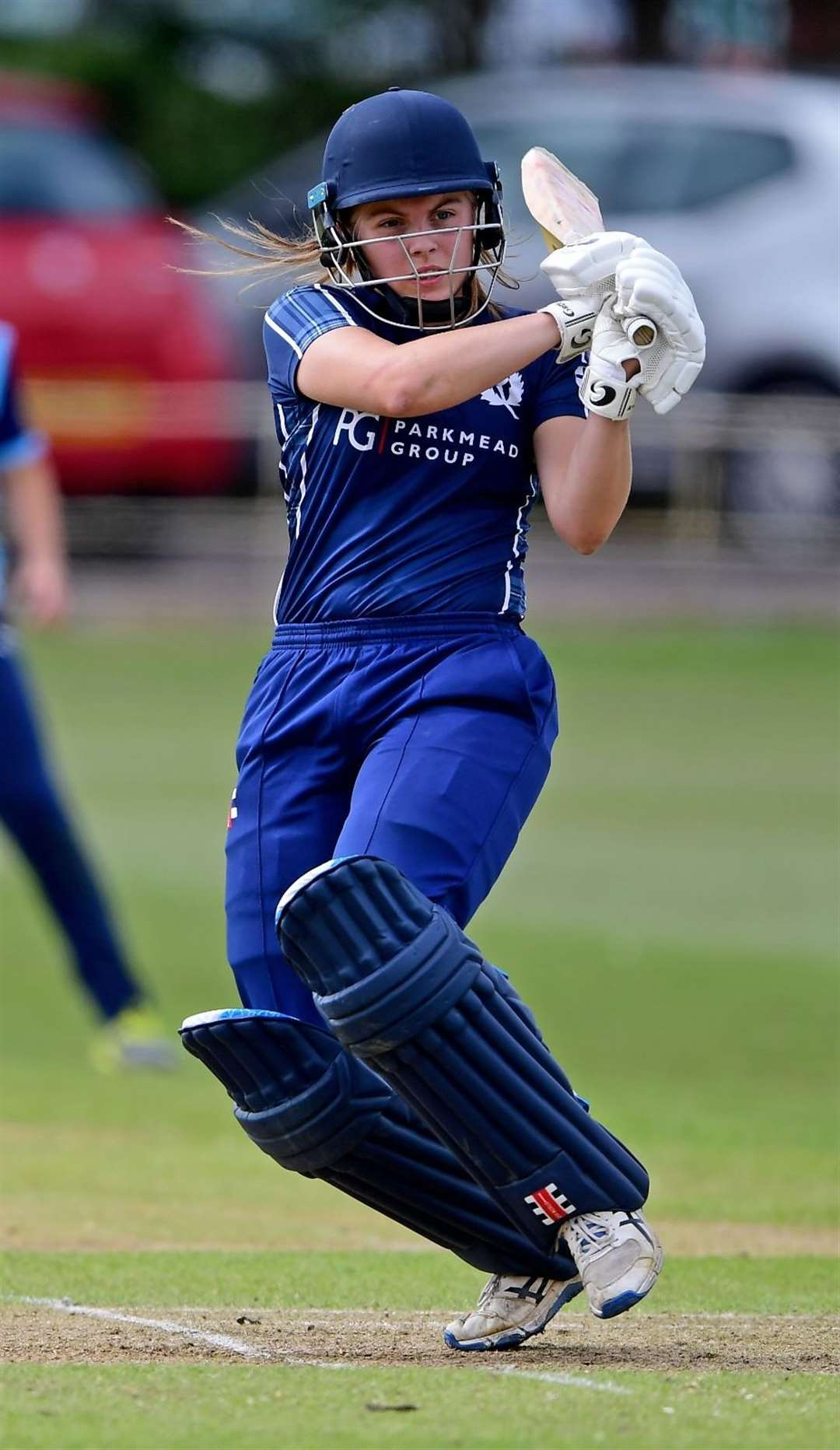 Ailsa Lister smashed her first century at a regional match at her hometown Huntly ground.