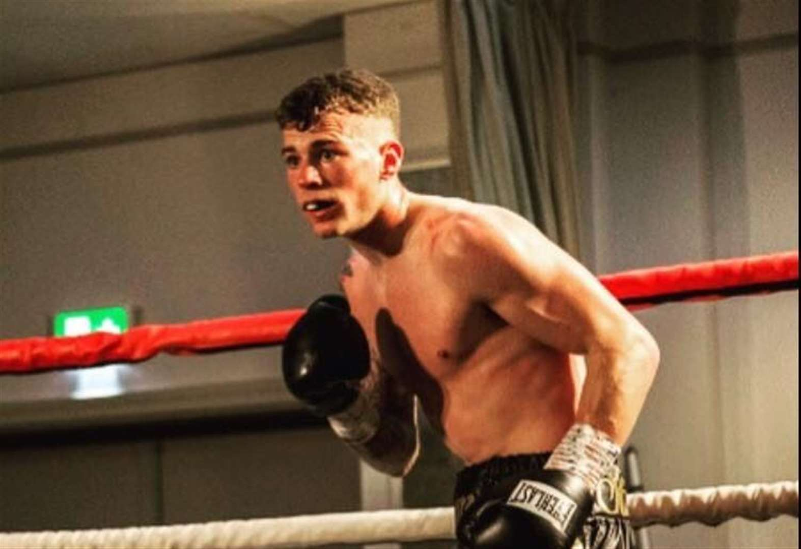 Rising boxing star Stuart ready for third pro fight
