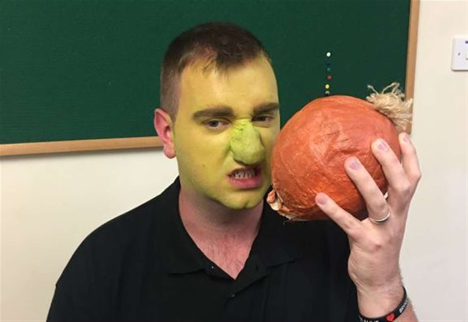 To make a great Shrek – just like an onion – an ogre needs his layers !