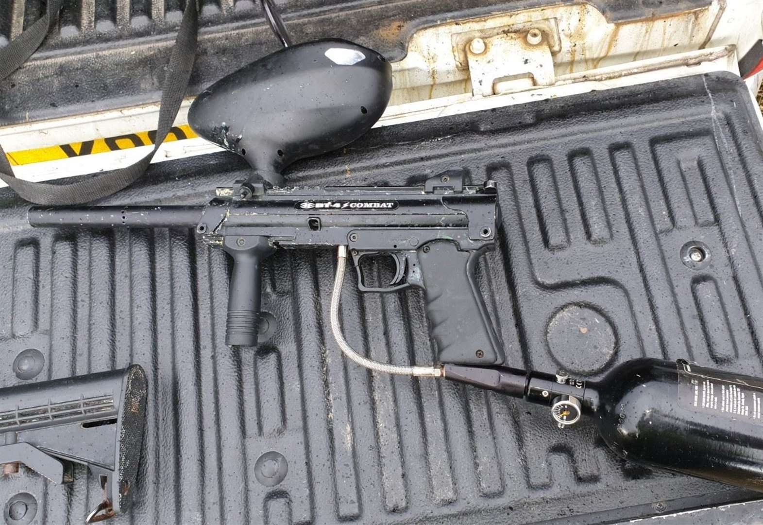 Appeal after paintballing equipment theft