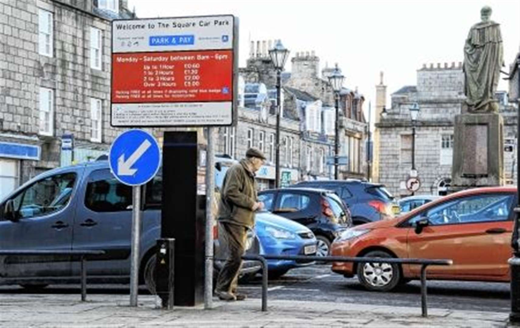Hopes of free parking fading