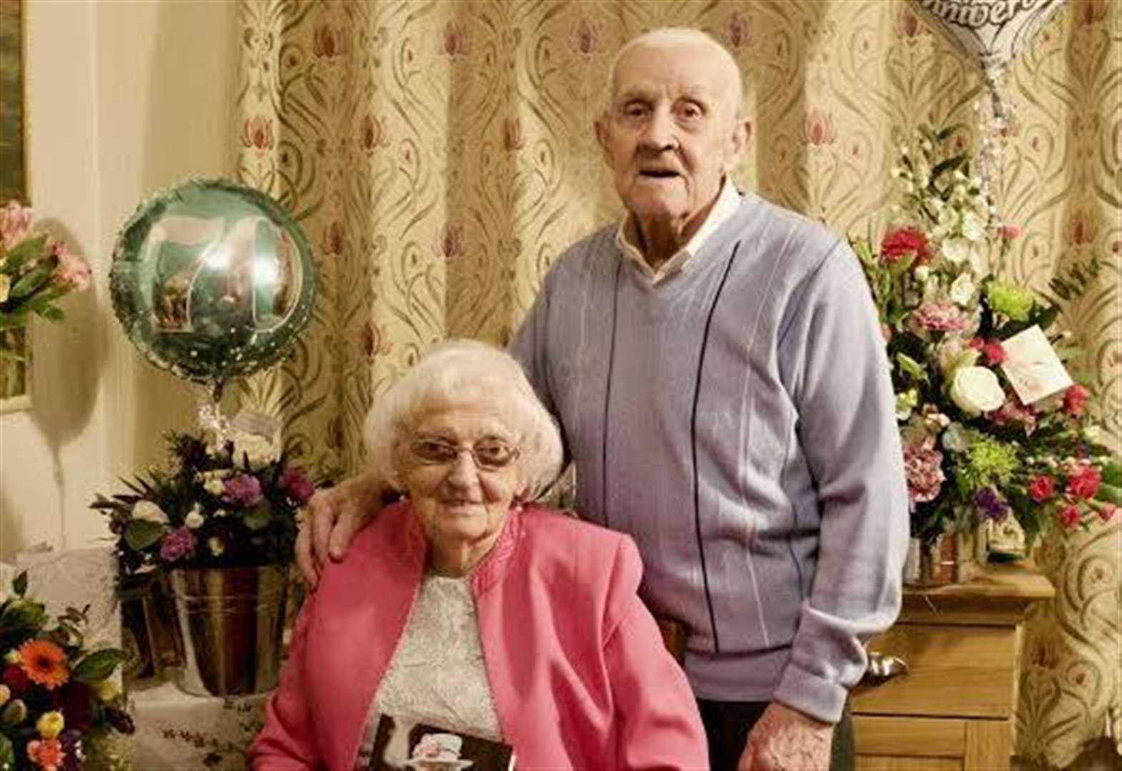 Platinum couple share the secret to life long love