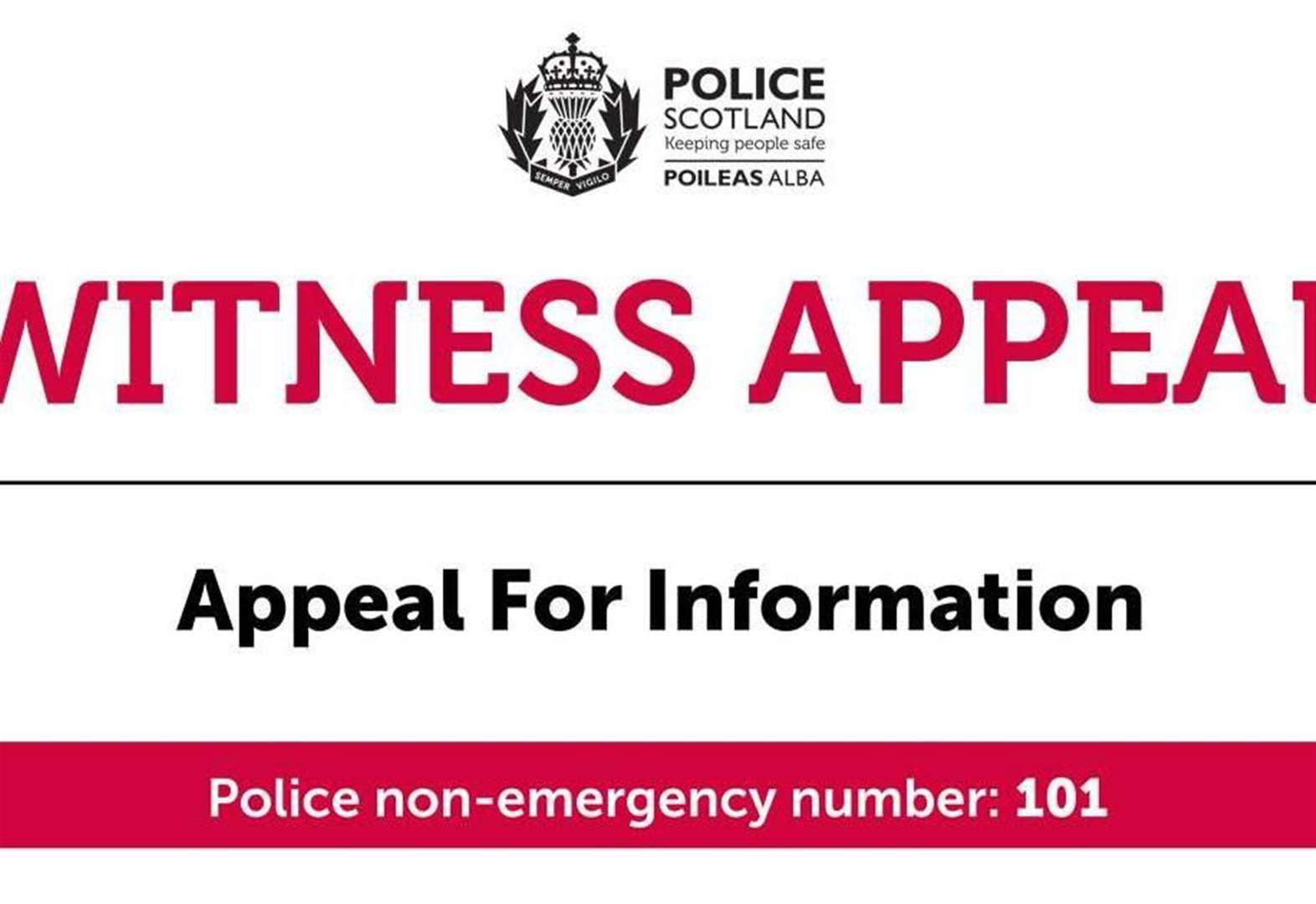 Appeal after a series of housebreaking incidents