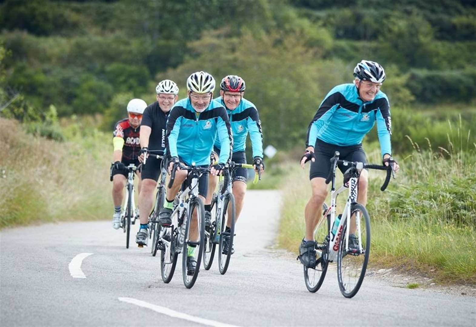 Cyclists crank up £4000 for Abbie's charity