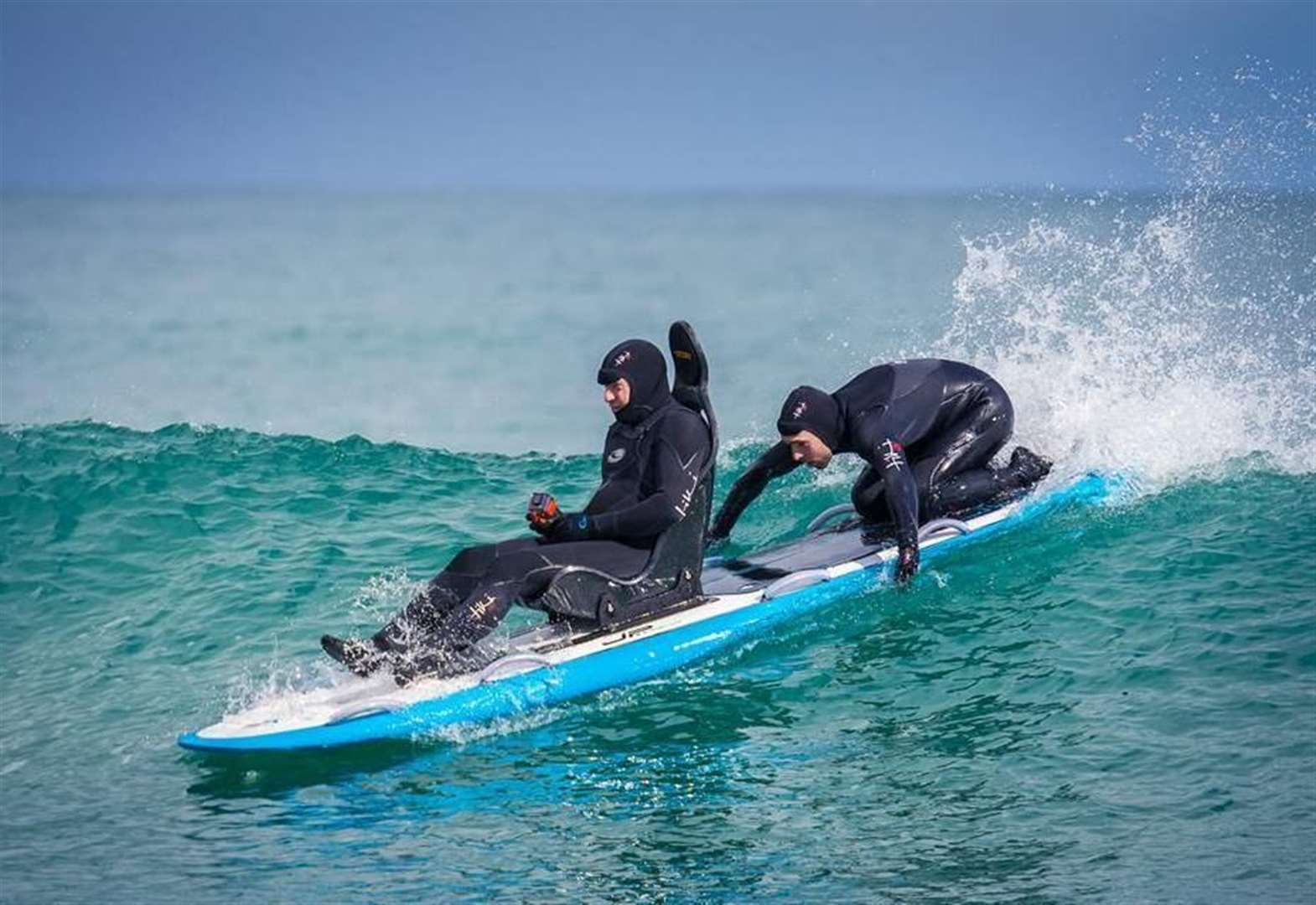 Lossie surf school on crest of wave after funds boost