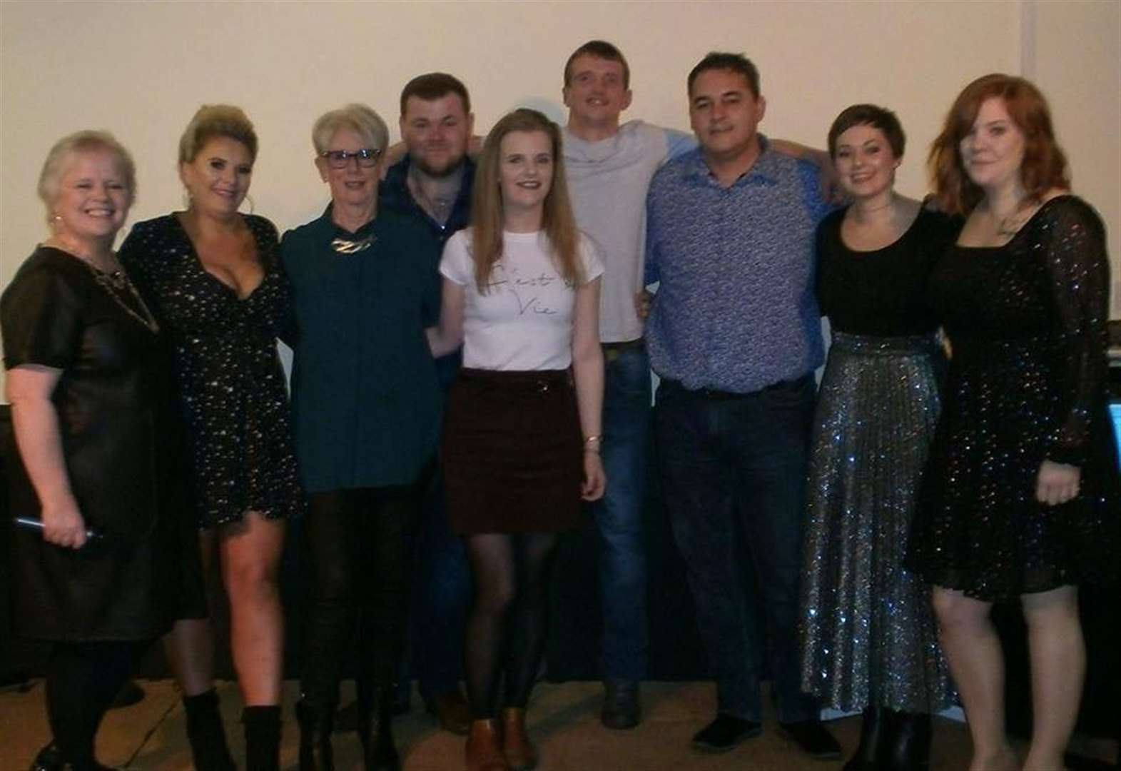 Local talent raised £1500 for good causes