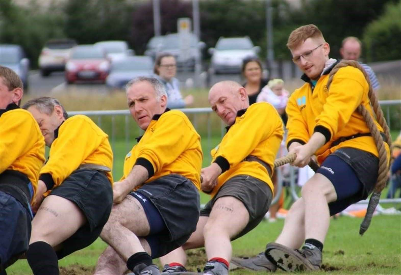 Tug of war team continues to pull in support