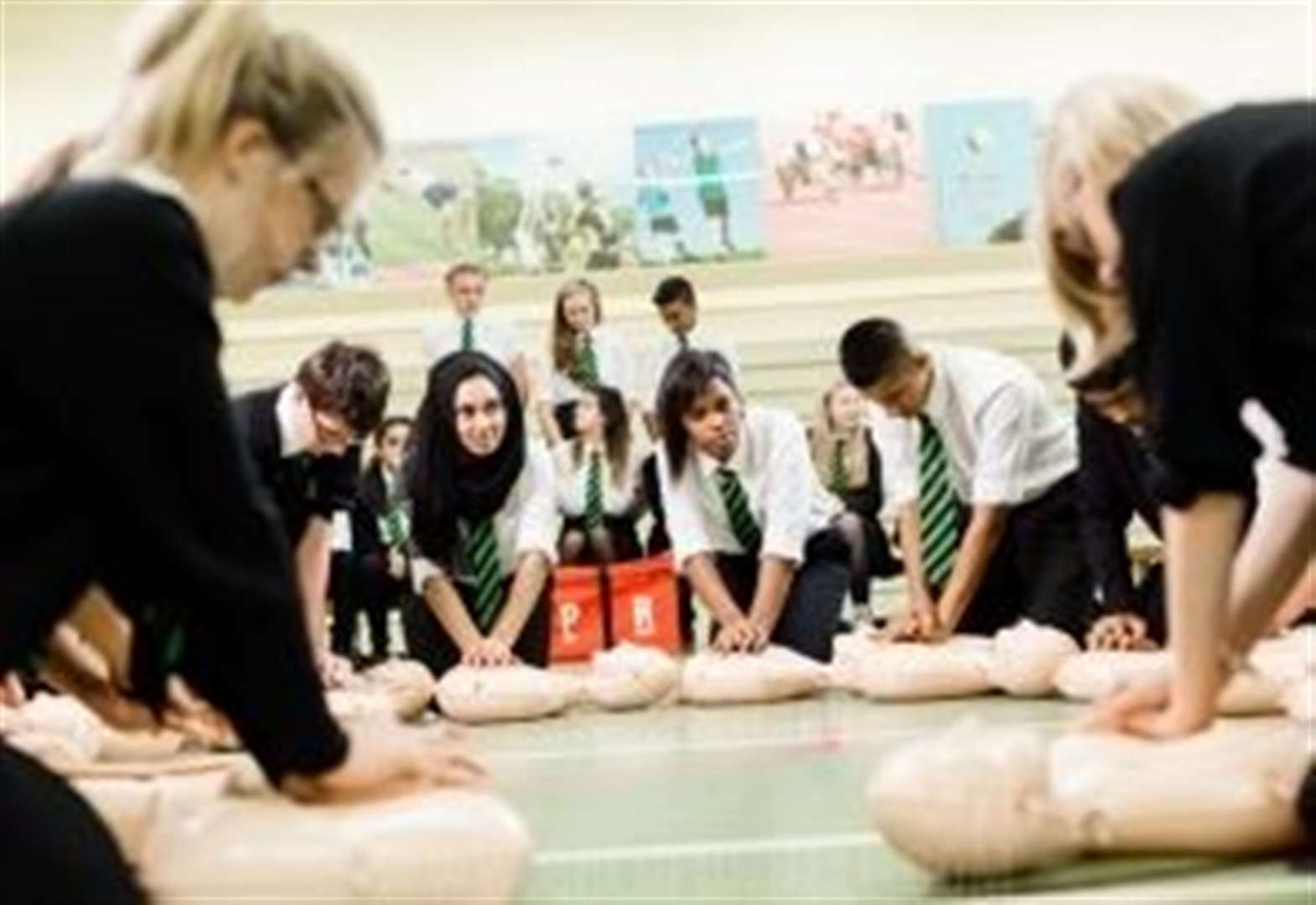 Moray helps create Nation of Lifesavers