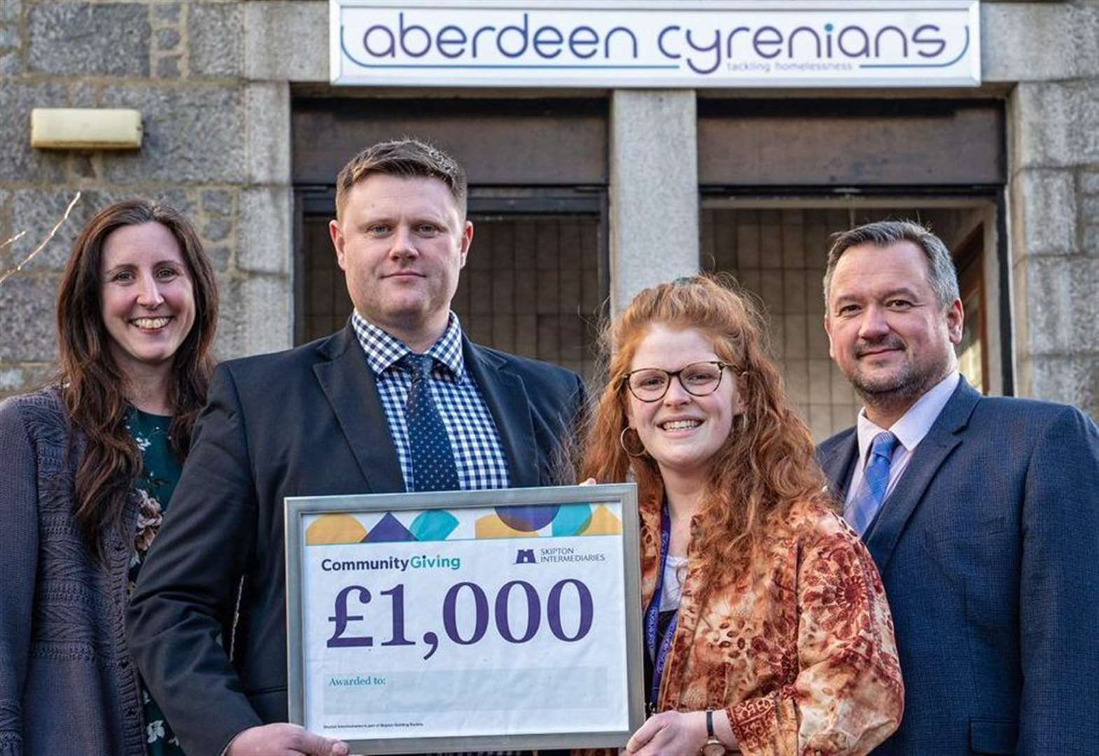 Aberdeenshire business doubles charity donation