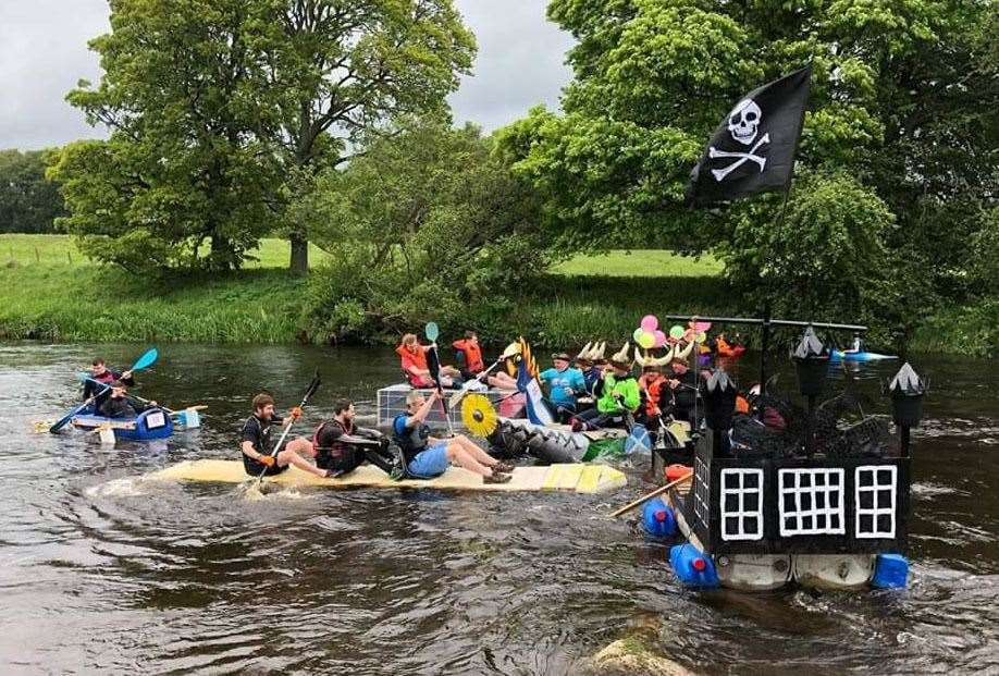 The Inverurie Raft Race returns for 2020.