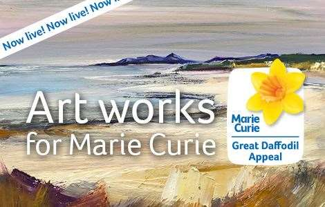 Marie Curie will run the online auction from March 9 until March 21.