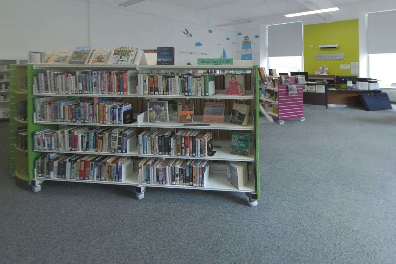 Libraries in Aberdeenshire are taking part in the reading and football challenge.