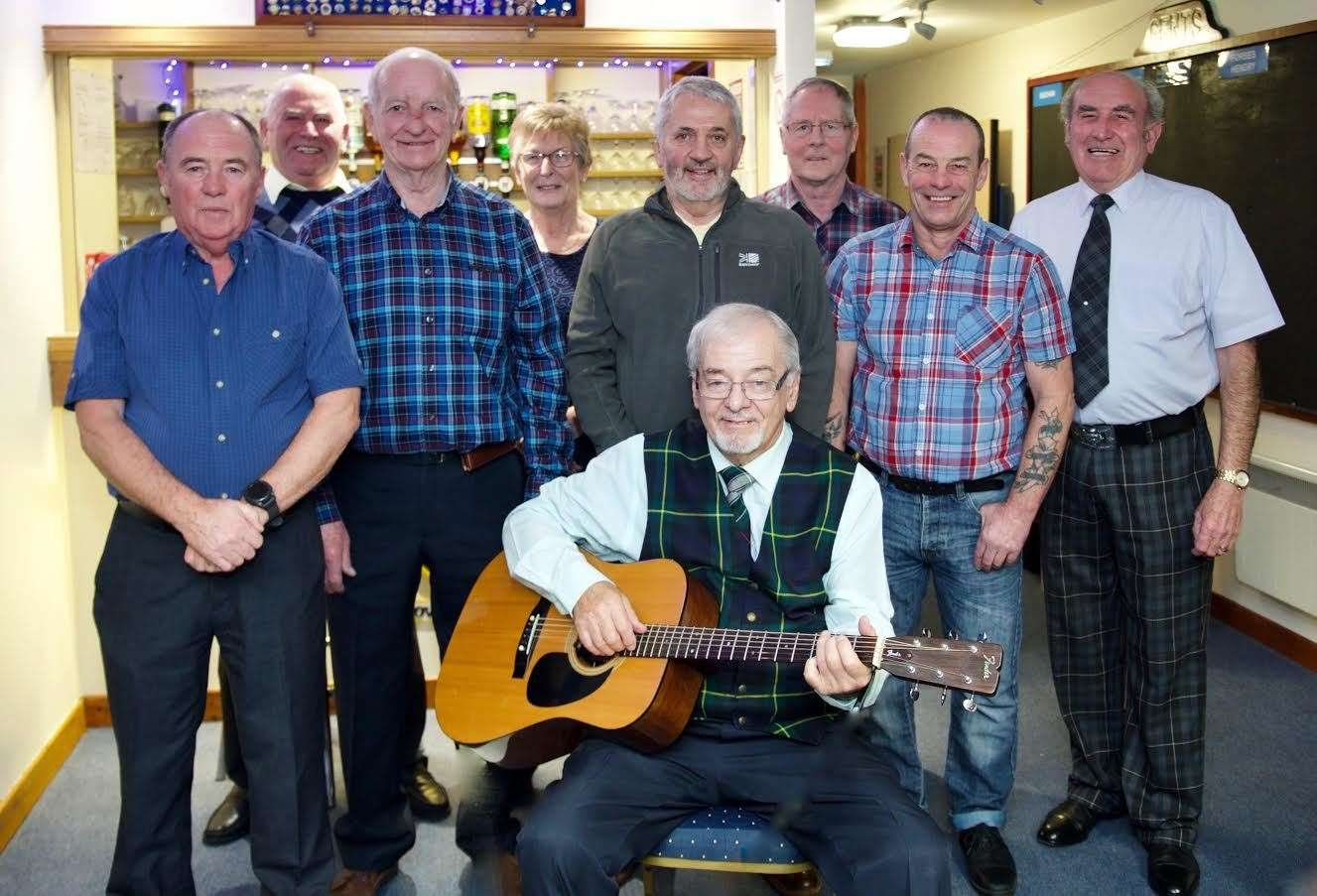 Ellon Bowling Club hosted a successful fundraiser. Picture: Phil Harman