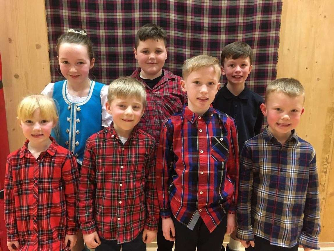 Turriff Primary Burn's assembly