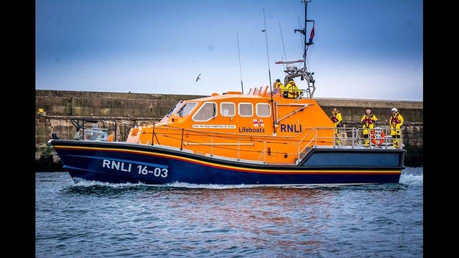 Peterhead Lifeboat. Photograph courtesy of RNLI