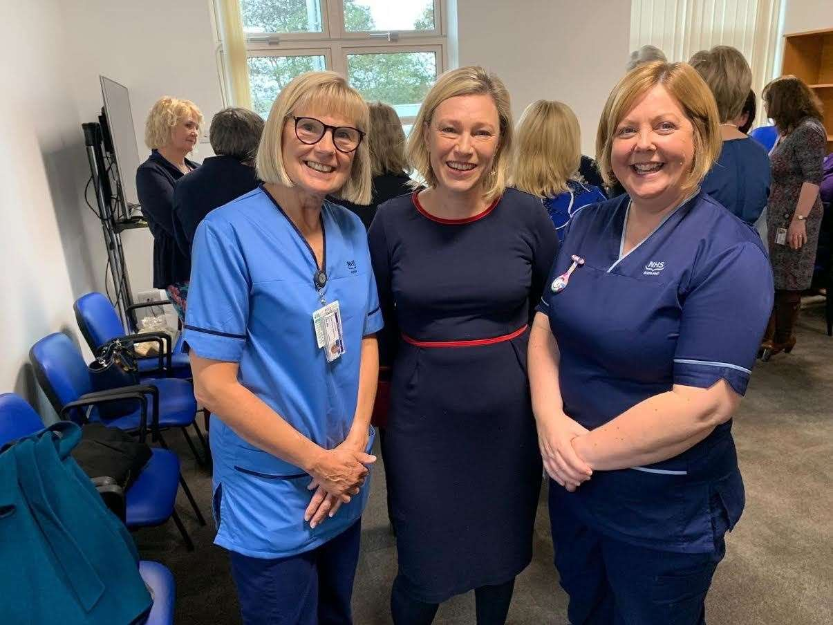 MSP Gillian Martin has paid tribute to nurses of the north-east.