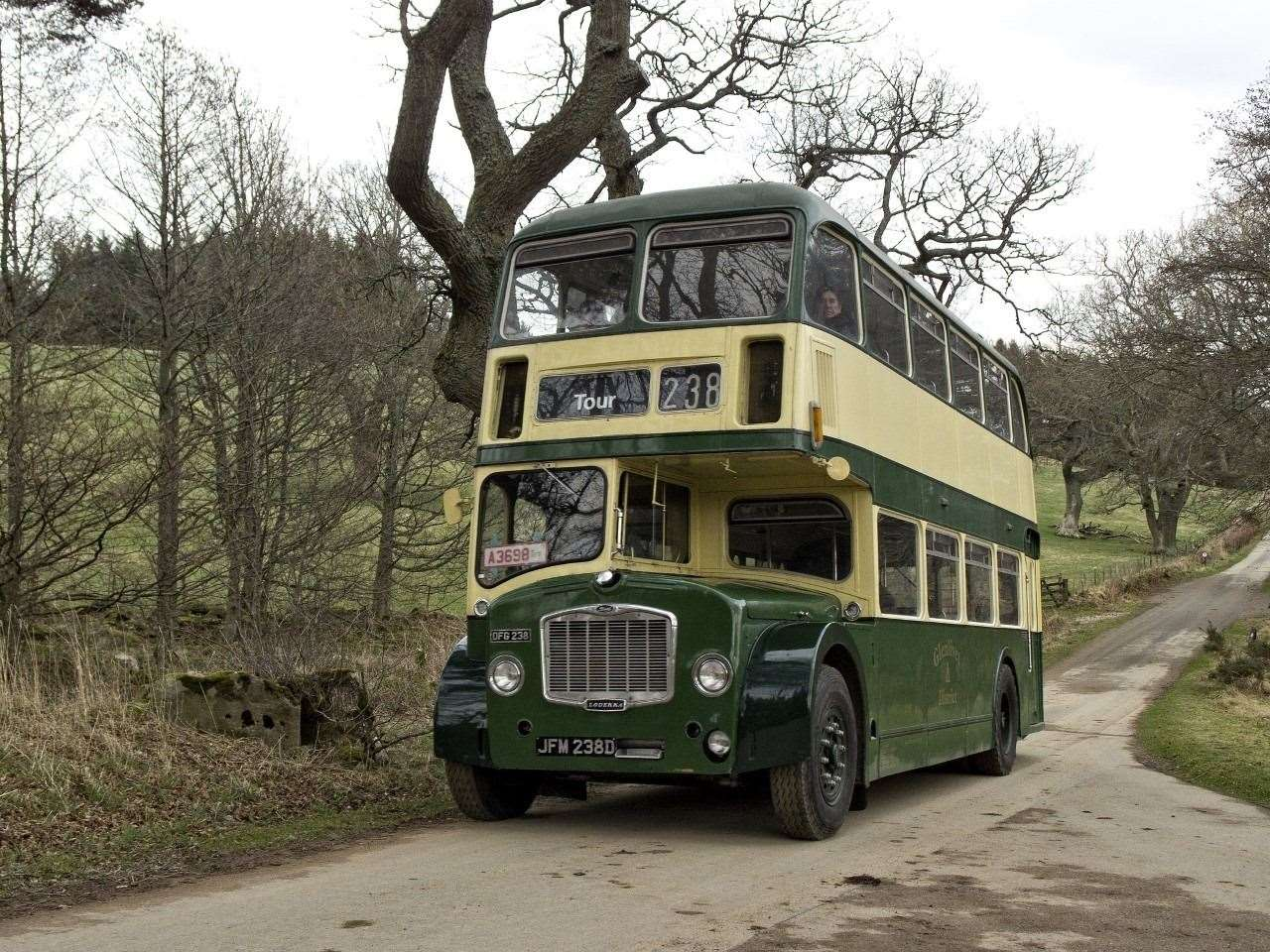 A 1960 Bristol Double Decker bus will undergo a full restoration thanks to the funding.
