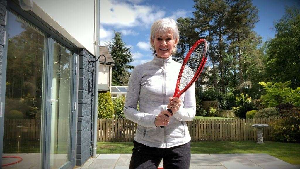 Judy Murray will teach about the importance of excercise