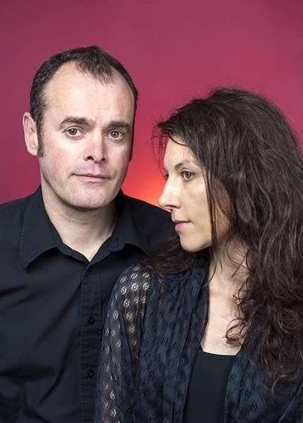 John Chalmers and Sandra Marrs who create works as Metaphrog.