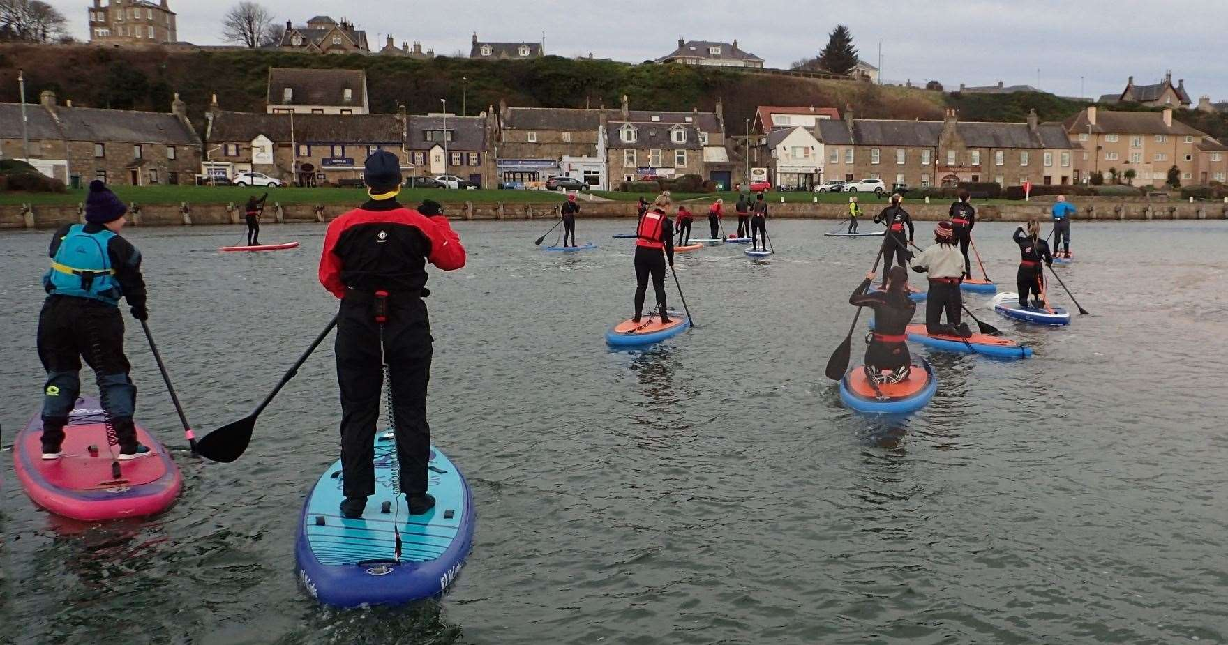 Lossiemouth-based Moray SUP Club has attracted more than 70 members since setting up in April.