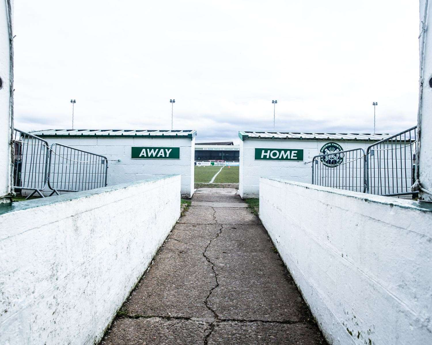 Buckie Thistle's home ground.
