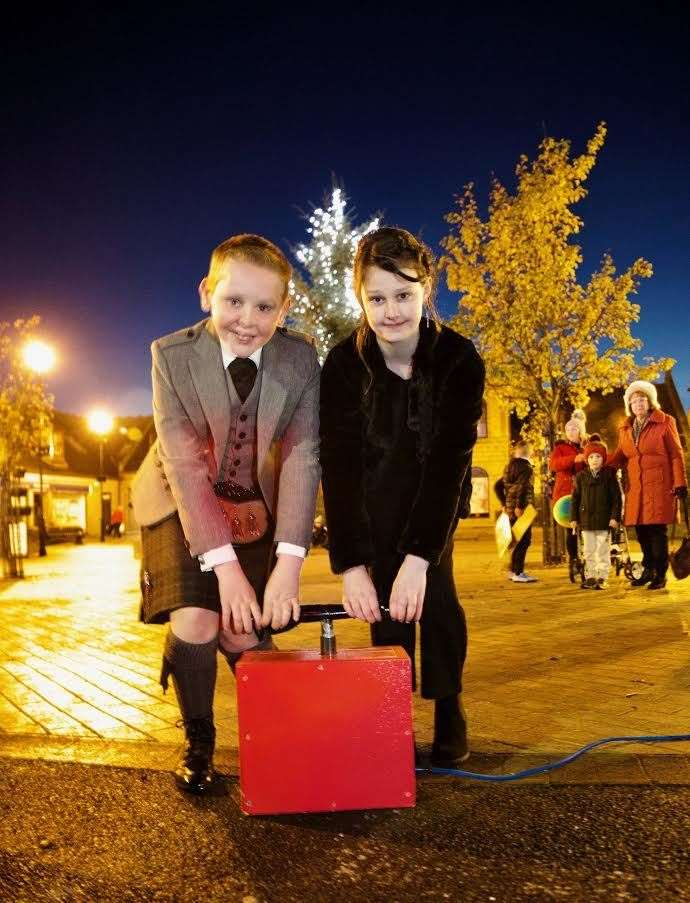 Ellon Christmas Lights Switch On Event. Picture: Phil Harman