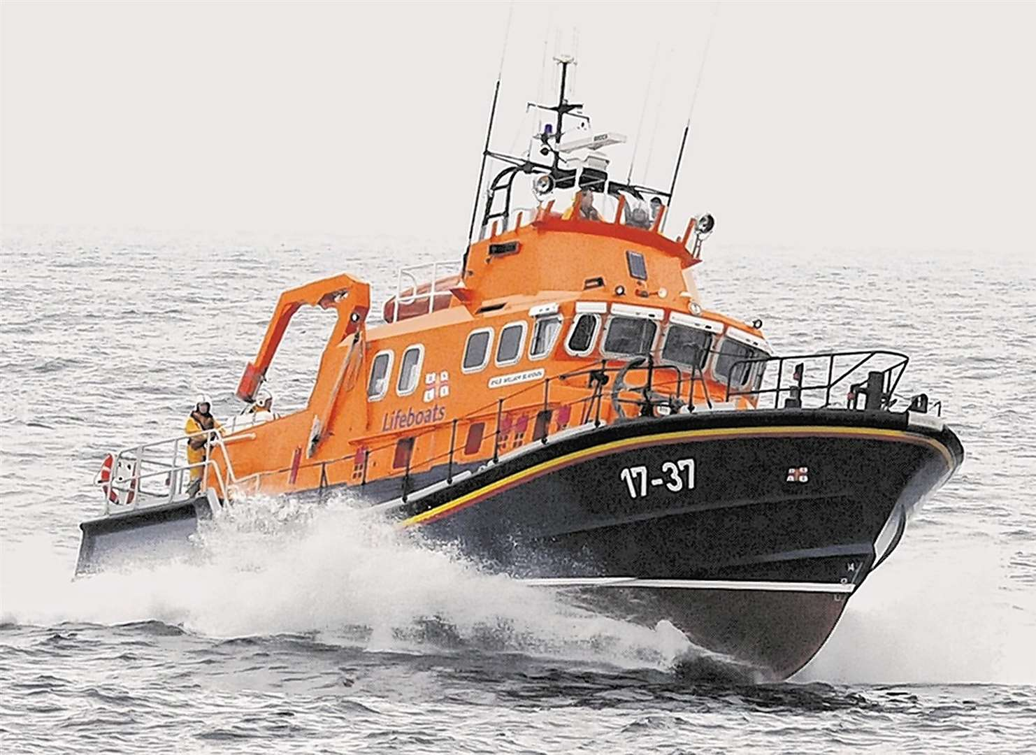 Buckie's RNLI lifeboat William Blannin's latest callout could have been a hoax.