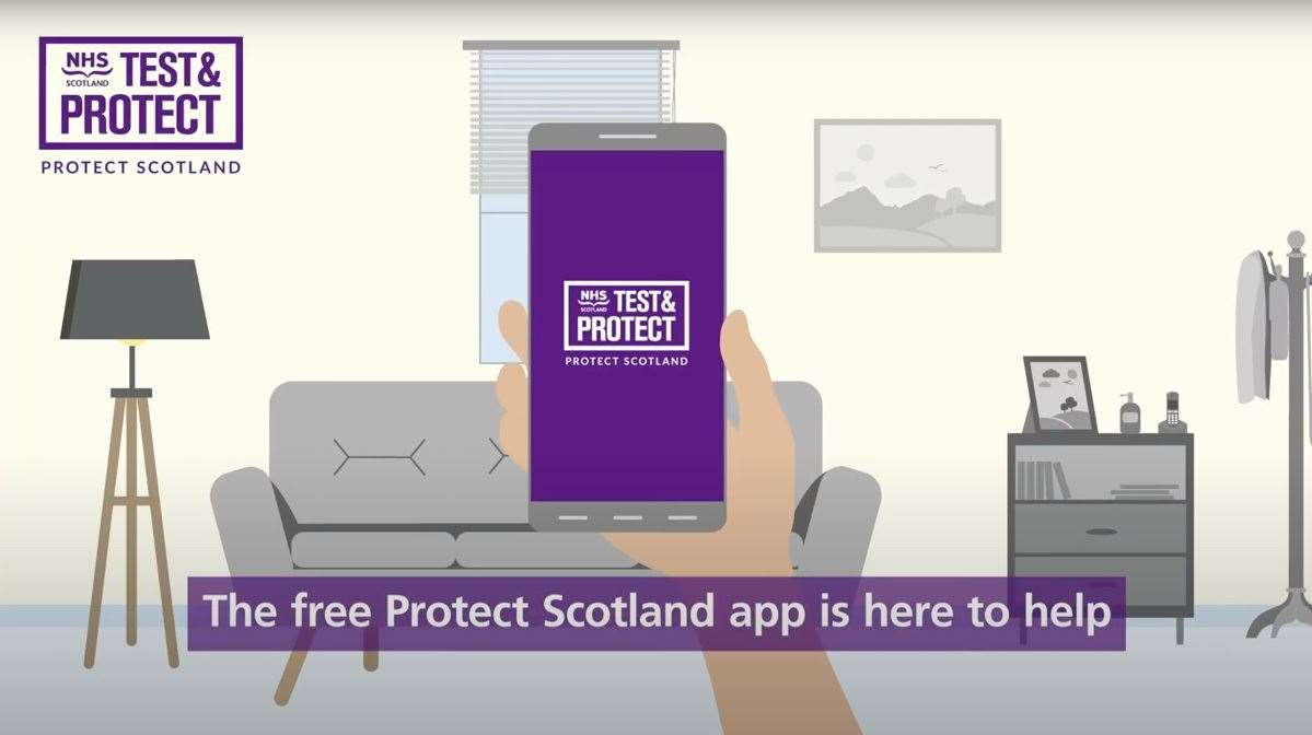The new contact tracing app has been launched in Scotland.