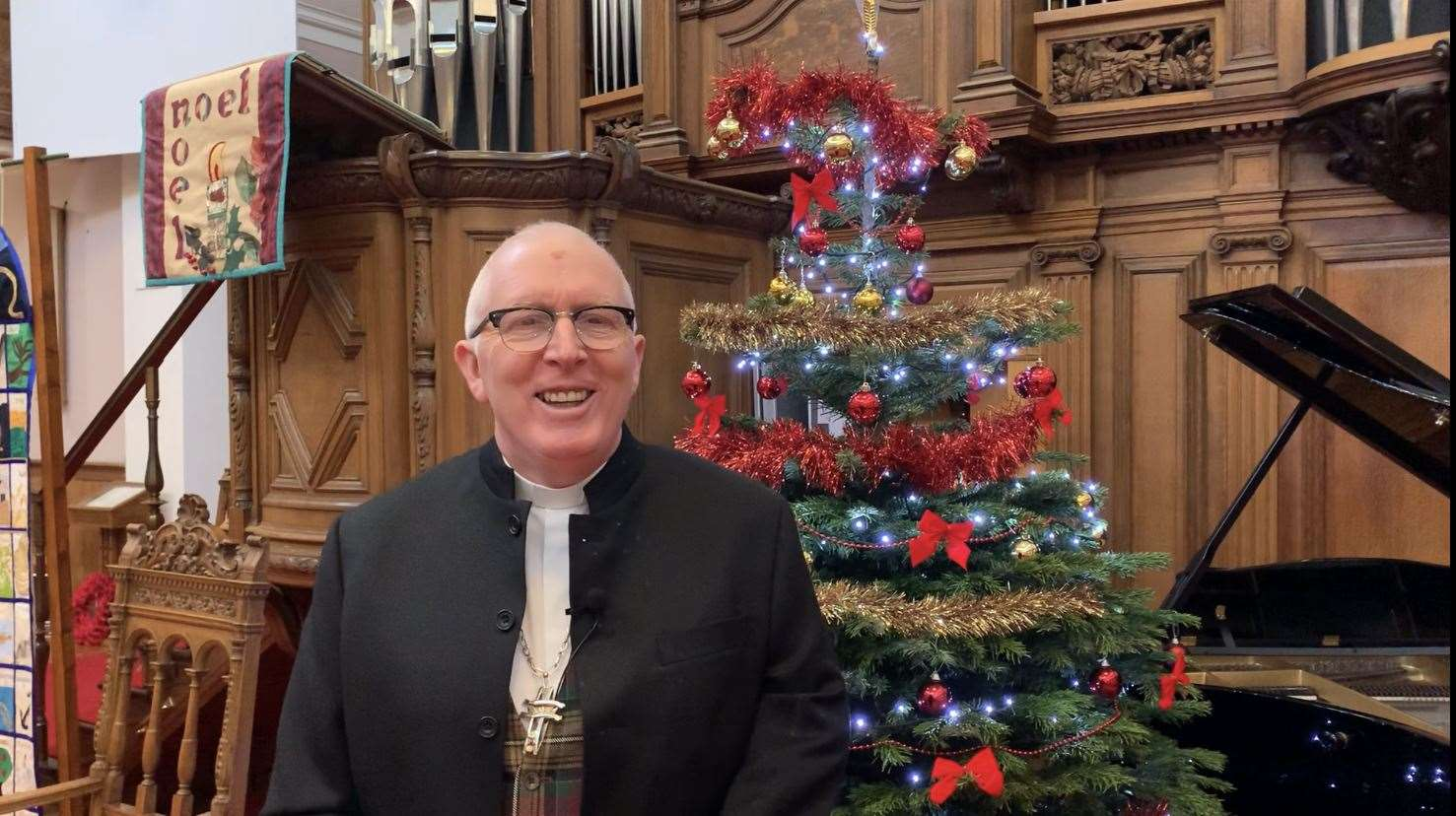 Right Reverend Dr Martin Fair, Moderator of the General Assembly Of The Church Of Scotland.