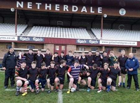Three Counties U16s, The Gordon Schools, Three Counties Cup, Netherdale, Rugby