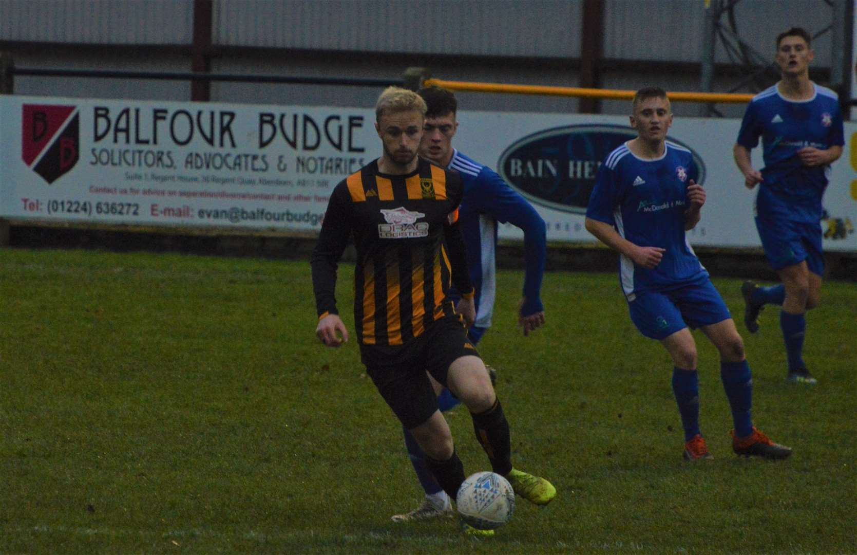 Huntly captain Ross Still. Picture: Derek Lowe