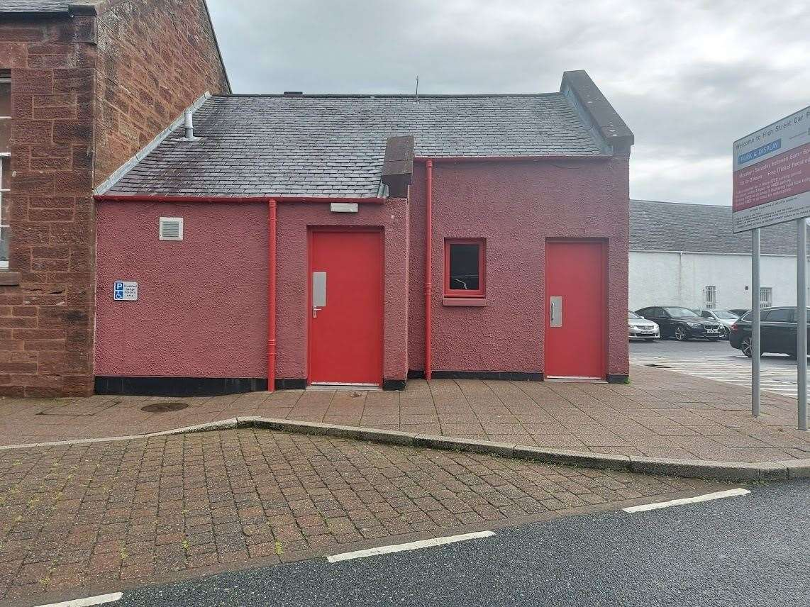 A lot of work has been undertaken so that the toilets can once again open to the public.