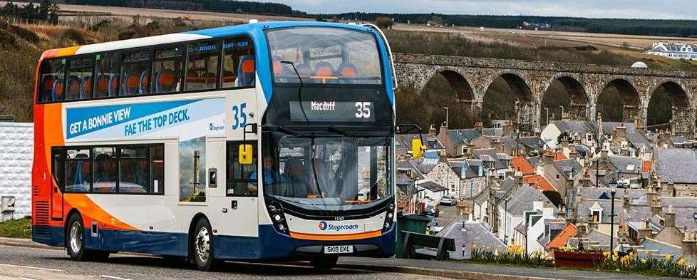 Stagecoach is introducing revised and reduced services across routes as of Monday in Aberdeenshire and Moray.