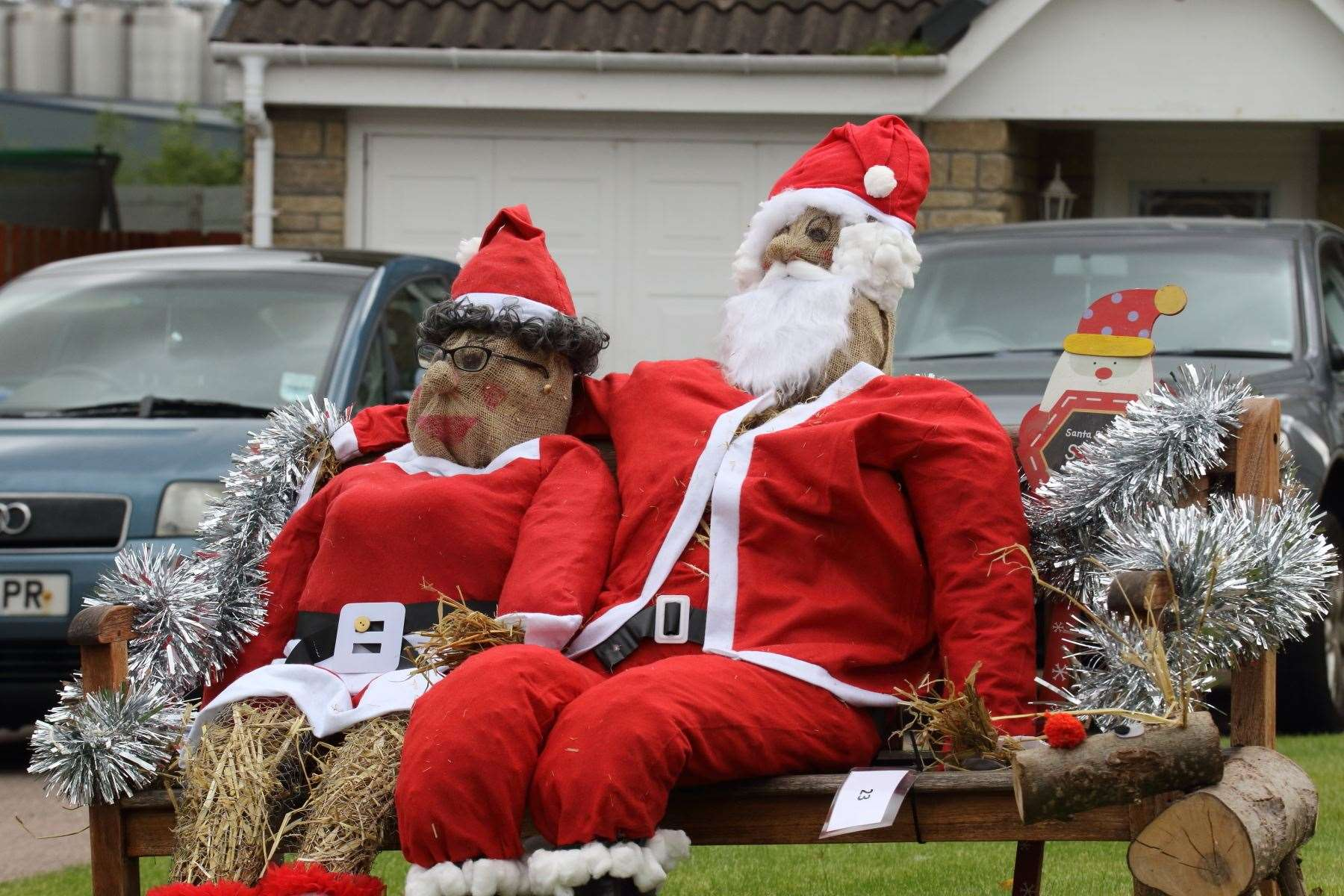 Christmas comes early at the Ellon scarecrow festival