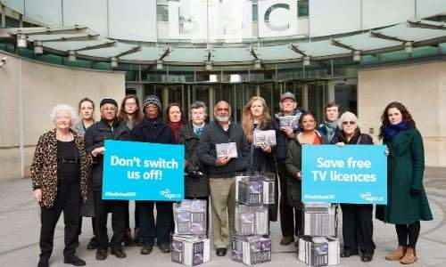 Age Scotland and Age UK have been campaigning to save free tv licences for older people.