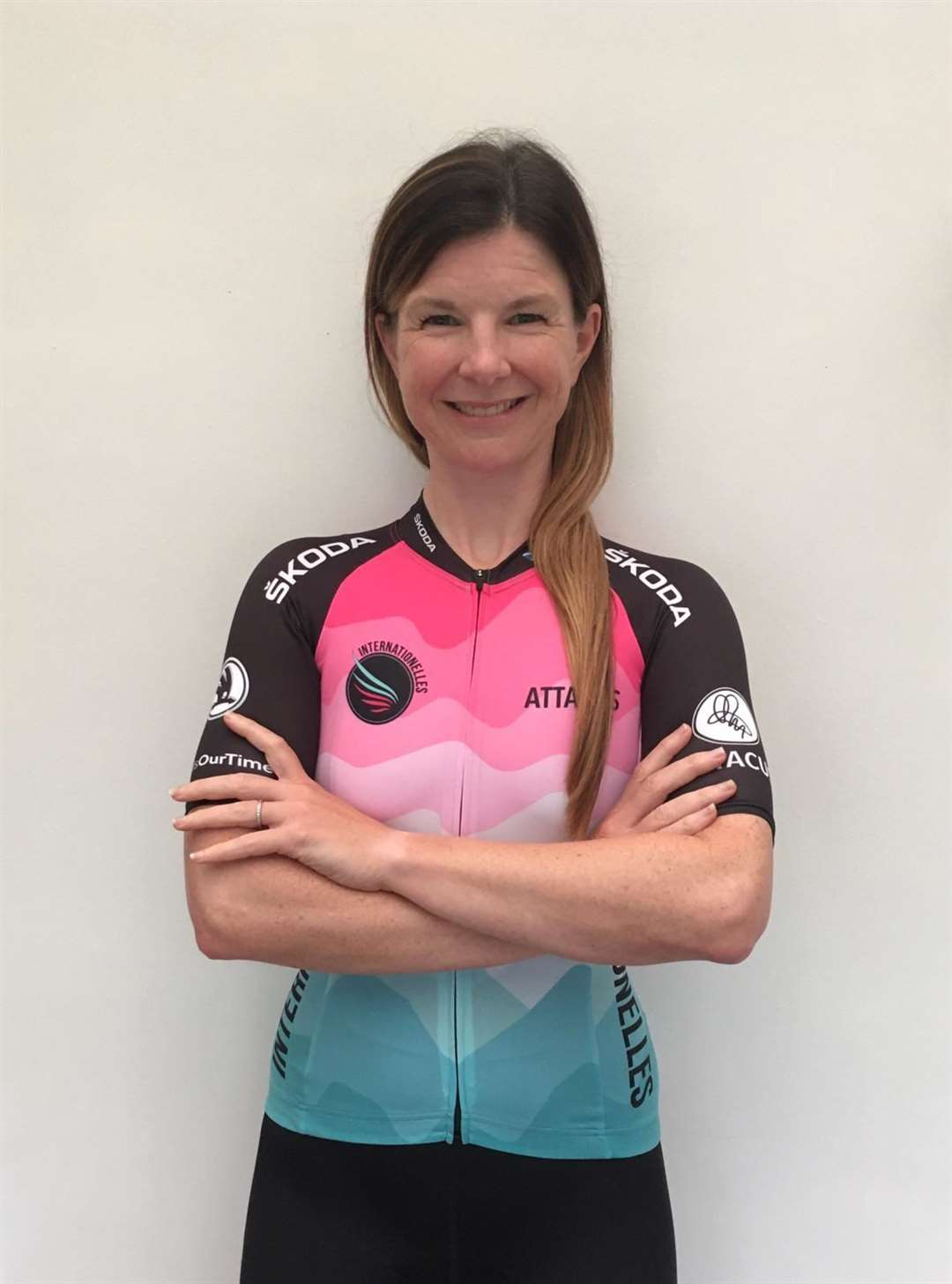 Cyclist Lucy Ritchie.