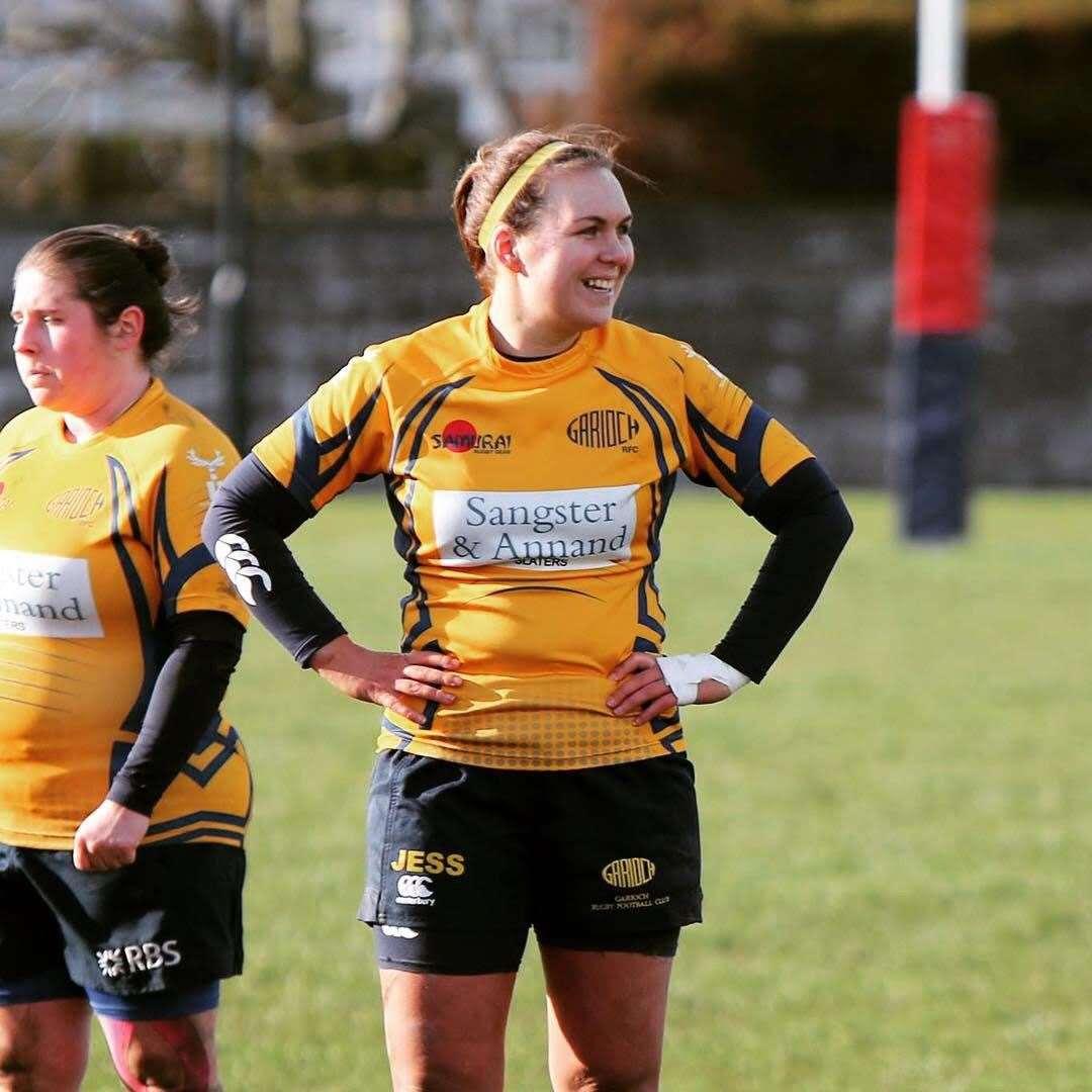 Jessica Silcocks of Garioch RFC