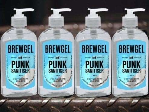 Brewdog has created hand sanitiser in an effort to help out.