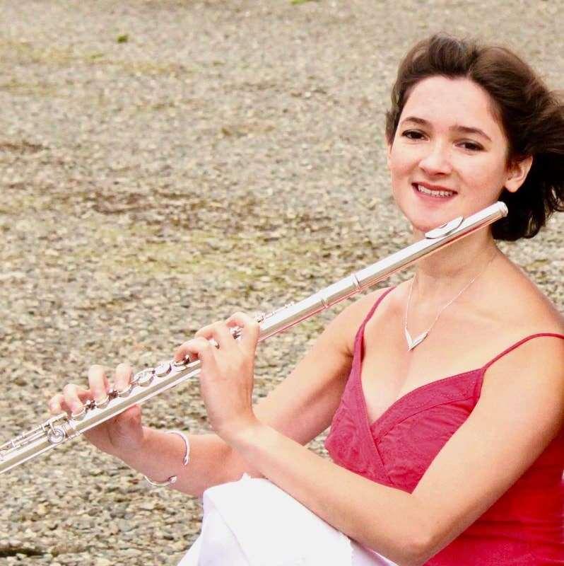 Meera Maharaj performs as part of the Maharaj Degavino Duo in Inverurie.