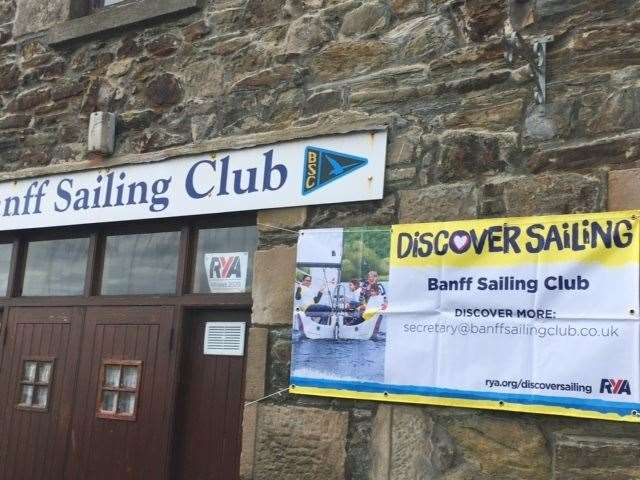 The sailing club has implemented Covid-19 safety measures.