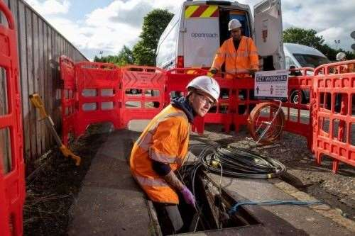 Ellon and Inverurie are amongst the towns set to benefit. Picture courtesy of Openreach