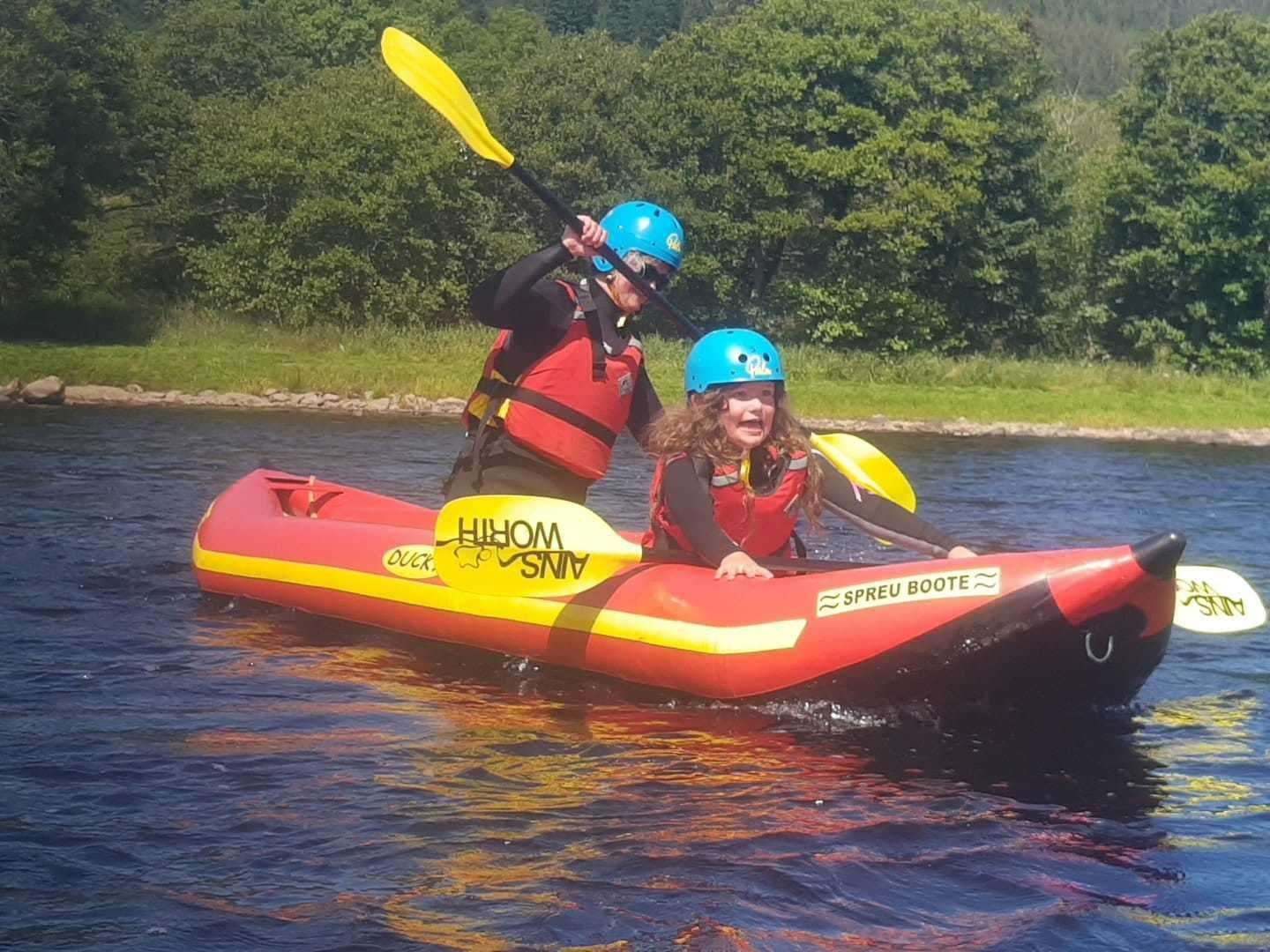 Outfit Moray deliver outdoor learning on land and water.
