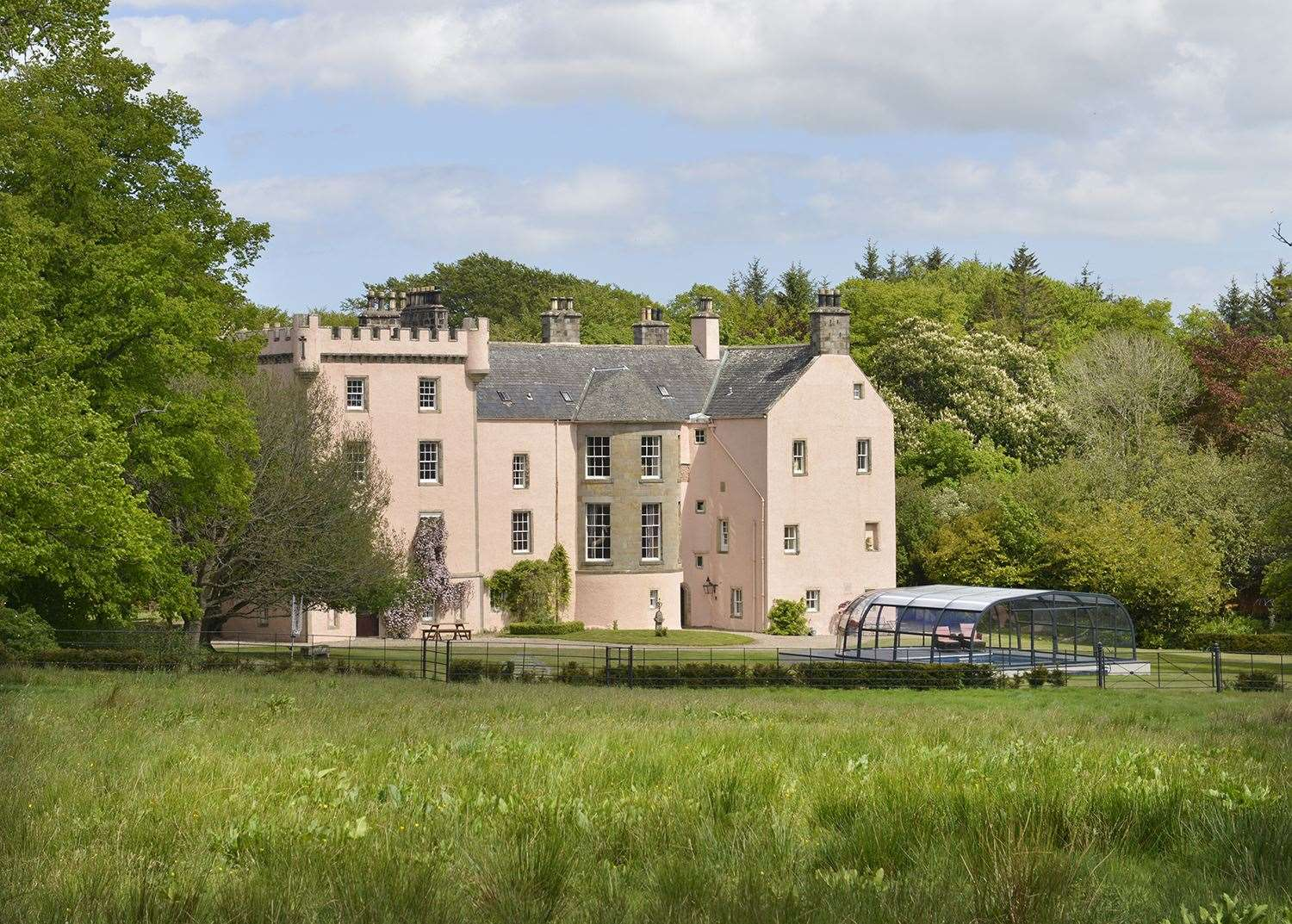 Castle of Park located near Cornhill is on the market. Picture: Knight Frank