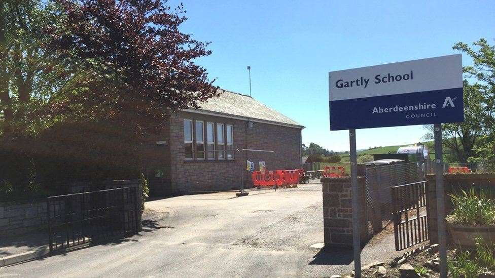 Gartly School is subject to a consultation