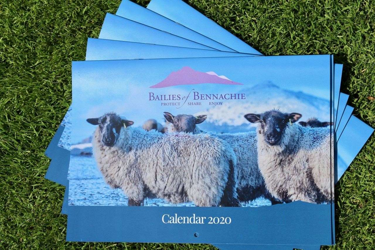 The 2020 Bailies of Bennachie Calendar is now available.