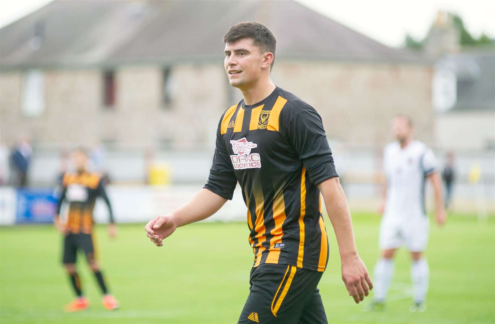 Glenn Murison levelled for Huntly in their 3-1 Scottish Cup win over Cumbernauld Colts.