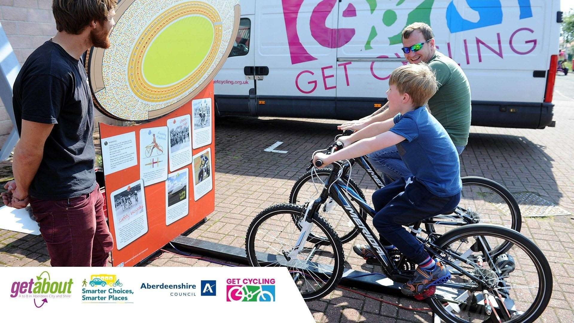 Active Travel sessions will take place across Aberdeenshire.