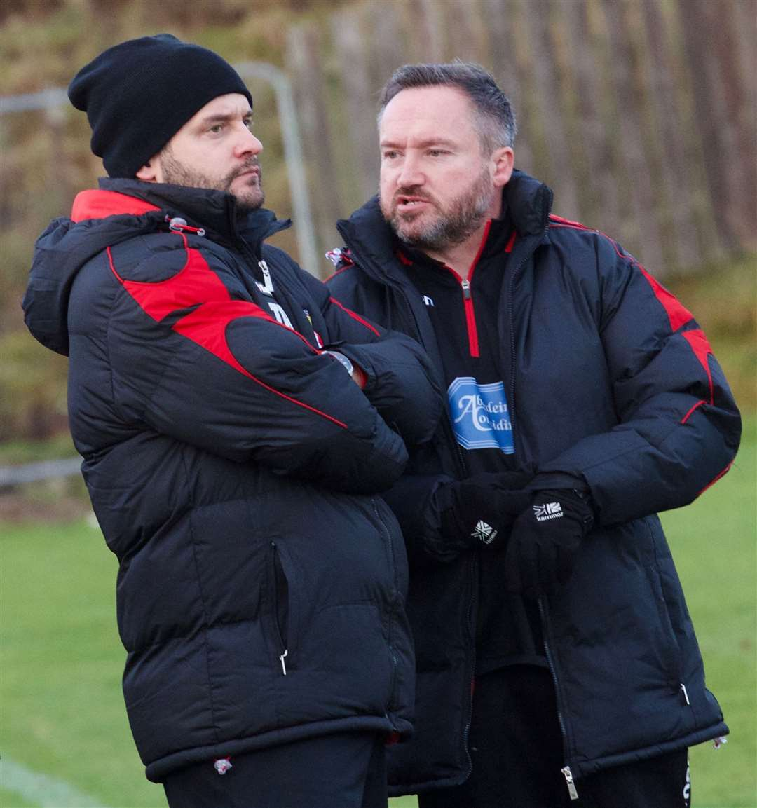 Manager Tommy Robertson hopes that United can cause an upset. Picture: Phil Harman